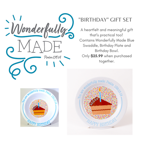 Birthday Gift Set - Blue