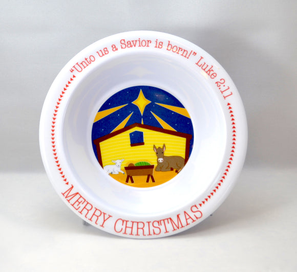 Christmas Manger Bowl