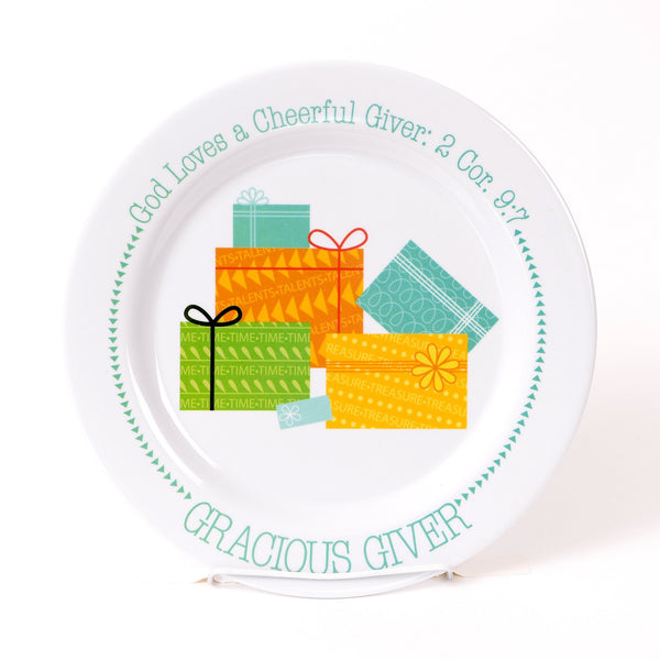 Gracious Giver Plate
