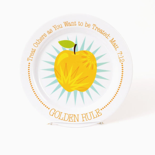 Golden Rule Plate