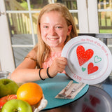 Love Plate and Bowl Set