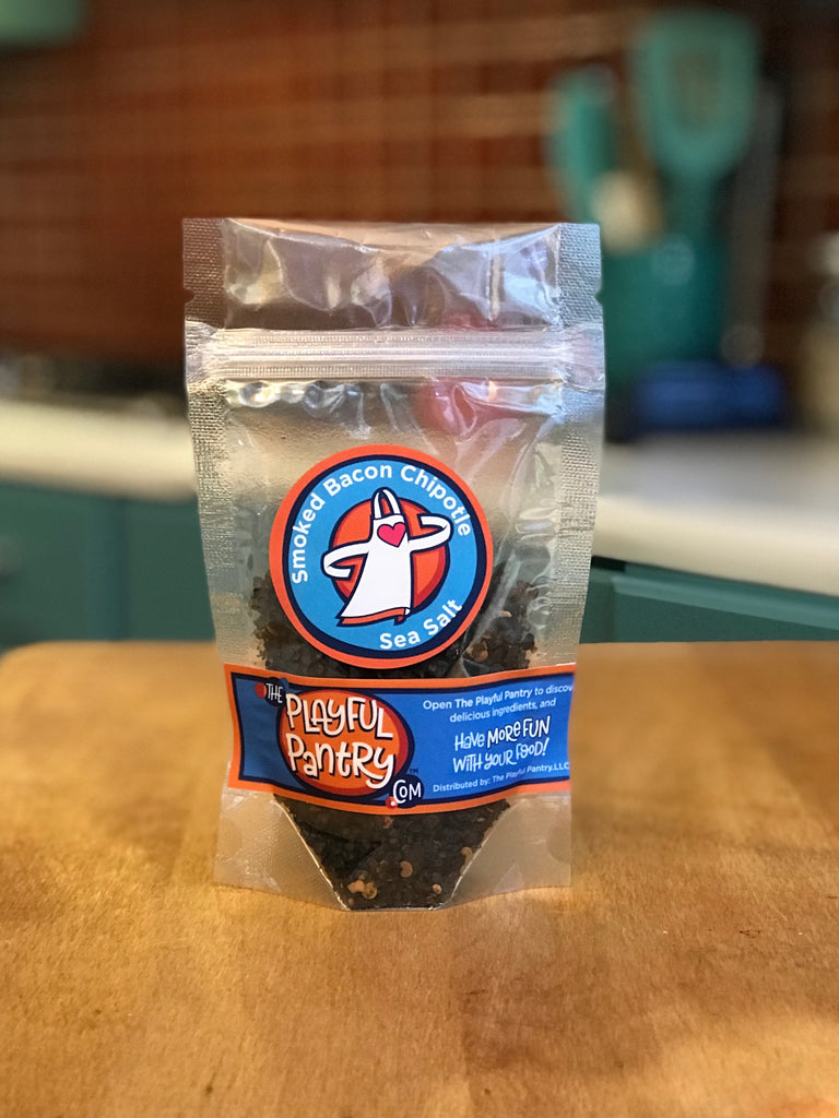 Smoked Bacon Chipotle Sea Salt Refill