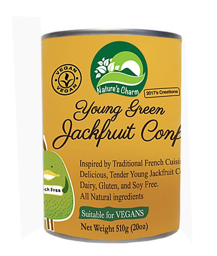 Natures Charm Young Green Jackfruit Confit 510g