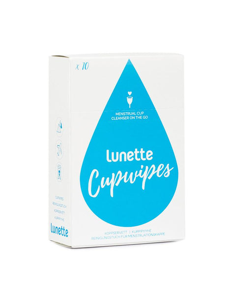 Lunette Cup Cleaning Wipes 10 Pieces