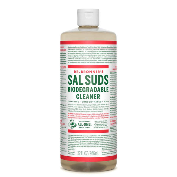 Dr Bronners Sal Suds Biodegradable Cleaner 946ml