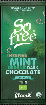 So Free Intense Mint Chocolate 80g