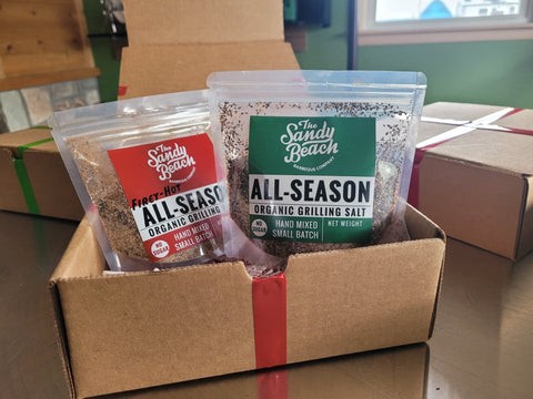 All-Season Organic Grilling Salt Gift Box
