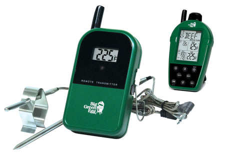EGG Shaped Dual Probe Wireless Remote Thermometer