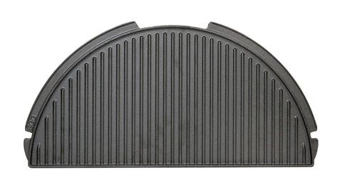 Half Moon Cast Iron Dual Side Griddle for XXLarge, XLarge & Large EGG