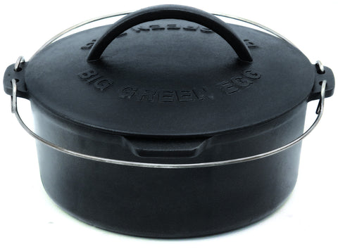 Cast Iron Dutch Oven (all except SM, Mmax, Mini) 5.5 Qt
