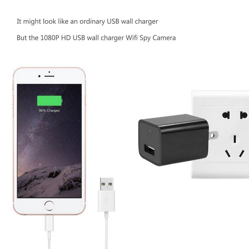 phone charger phone spy