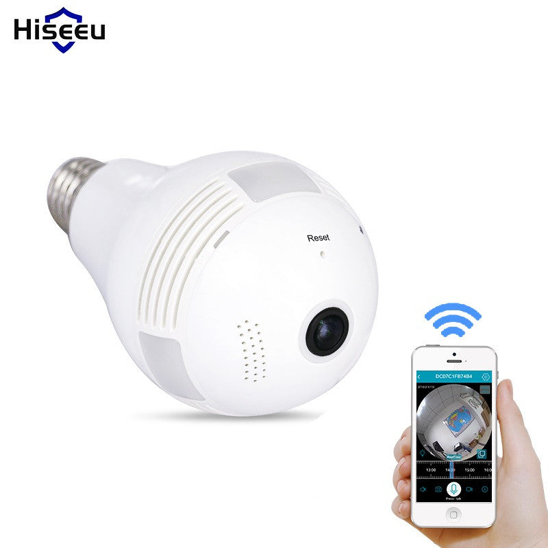 Consumer Electronics Ingenious Panoramic 360 Degree Bulb Light Ip Wireless Wifi Fisheye Lens Hd Night Vision Lamp Camera Indoor Home Security Surveillance To Rank First Among Similar Products