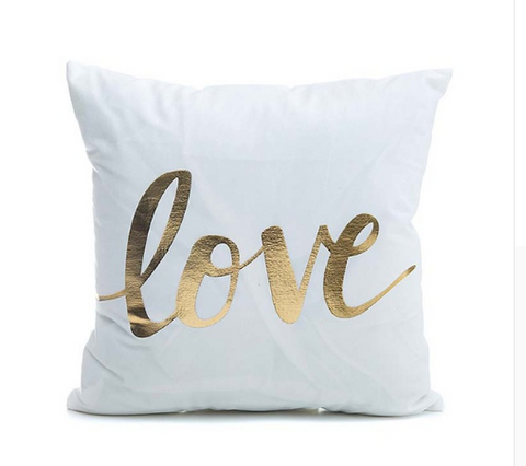 Love decorative cushion cover