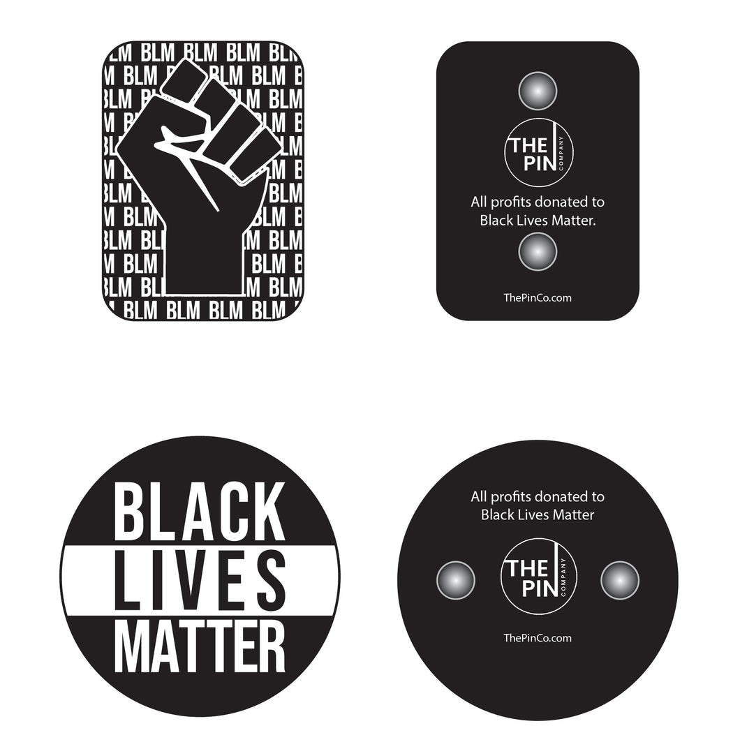 Black Lives Matter Pin Set