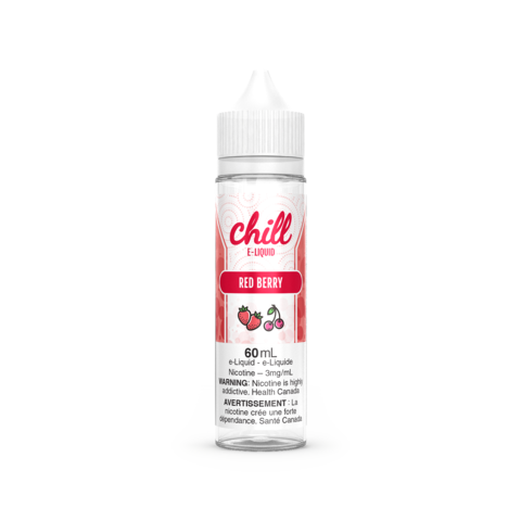 CHILL 60ML RED BERRY