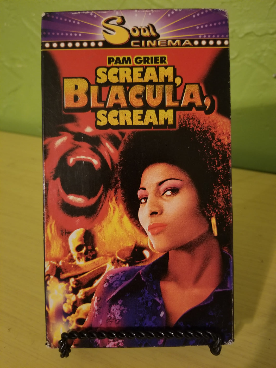 Scream, Blacula, Scream VHS