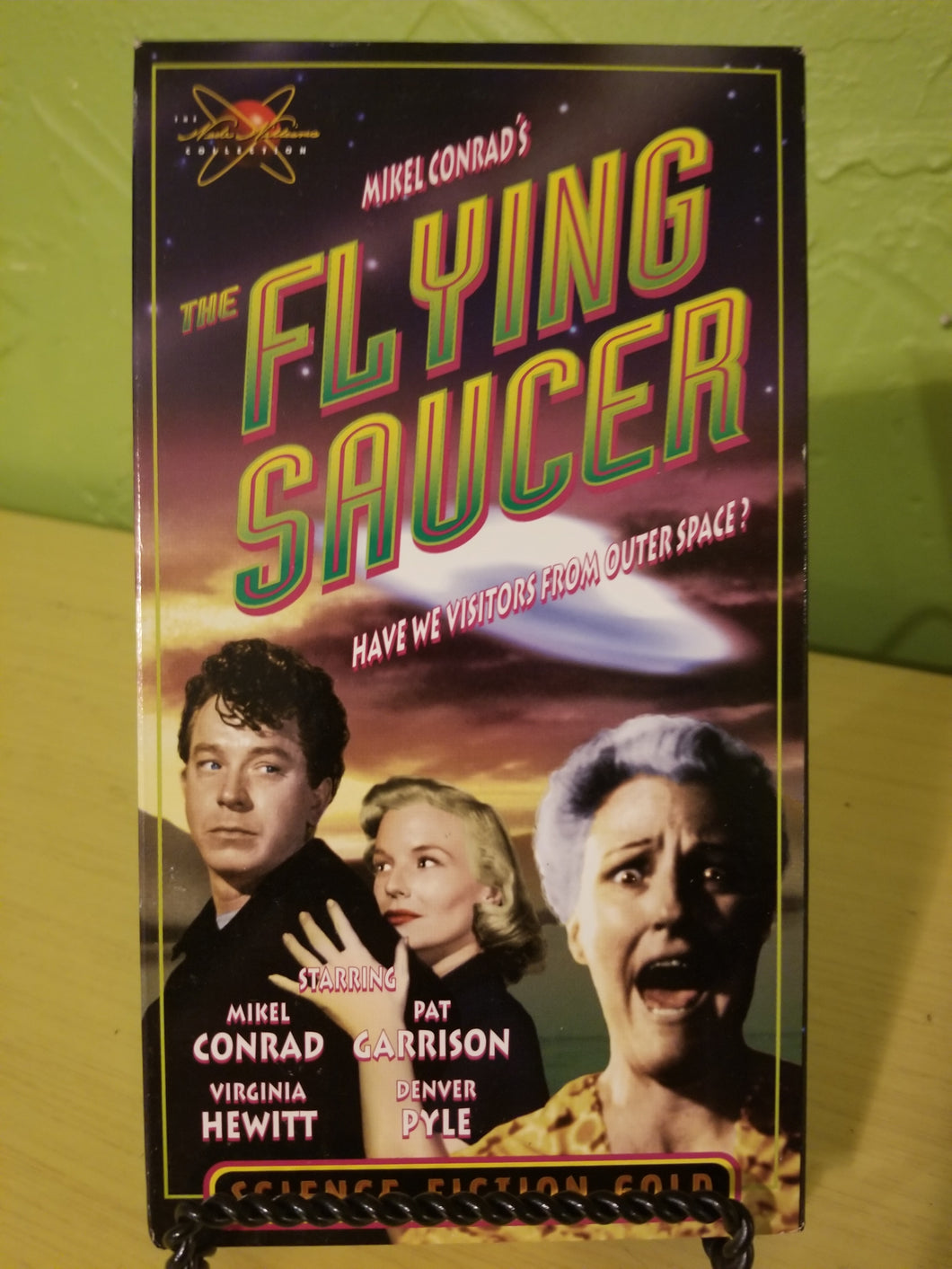 The Flying Saucer VHS