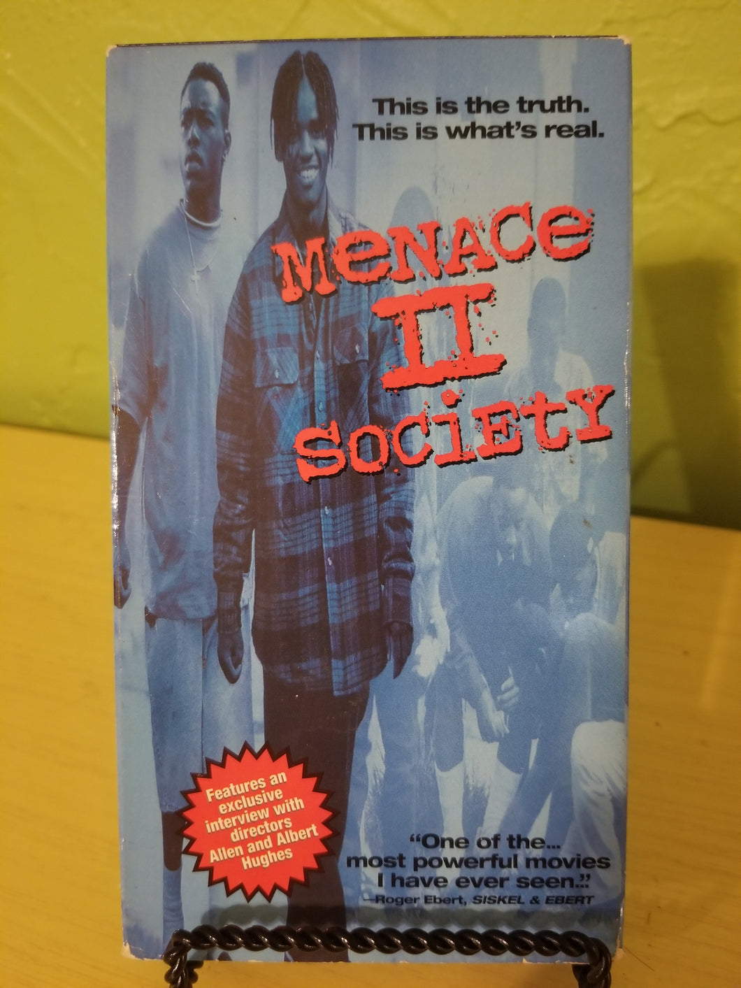 Menace II Society VHS