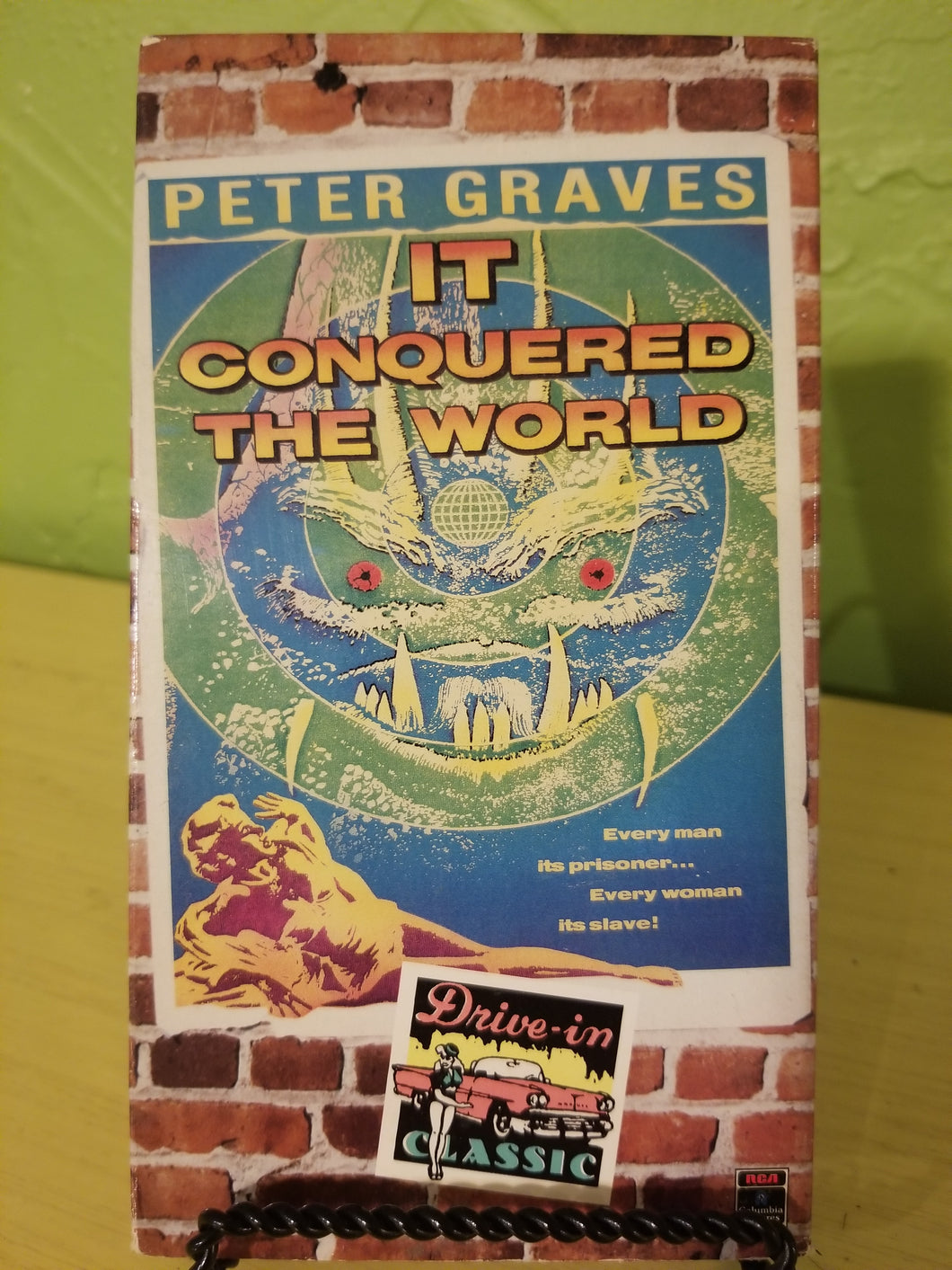 It Conquered the World VHS
