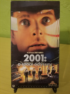 2001 A Space Odyssey VHS