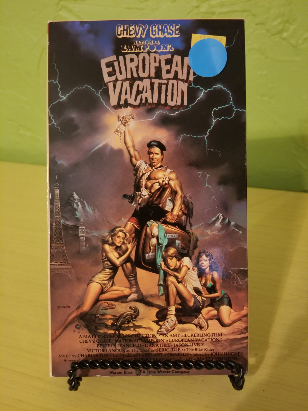 National Lampoon's European Vacation VHS