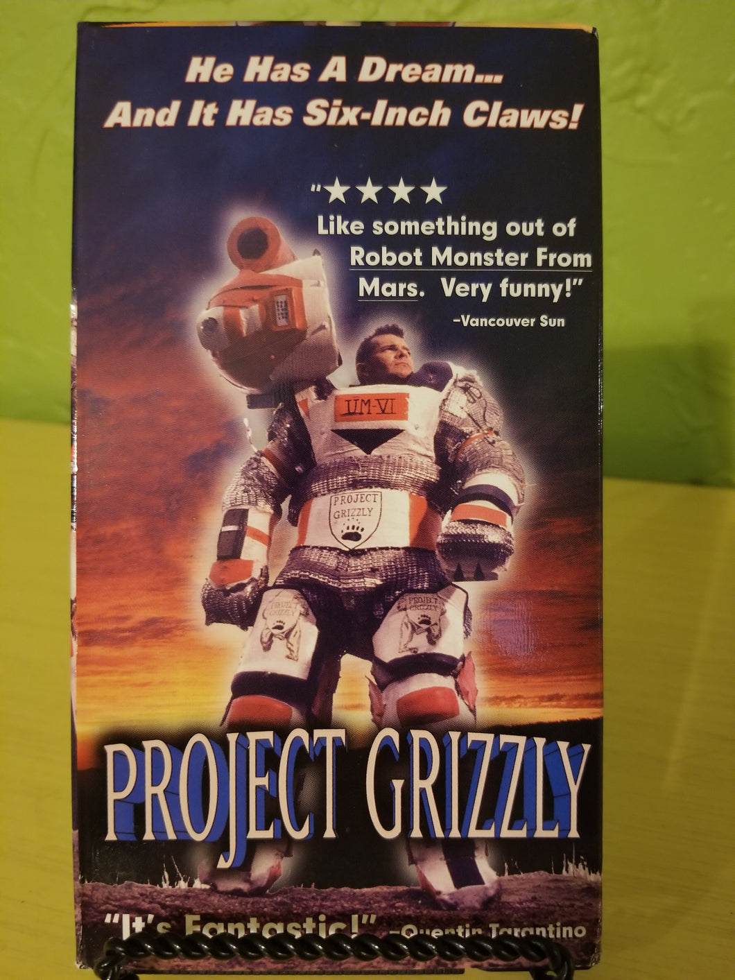 Project Grizzly VHS