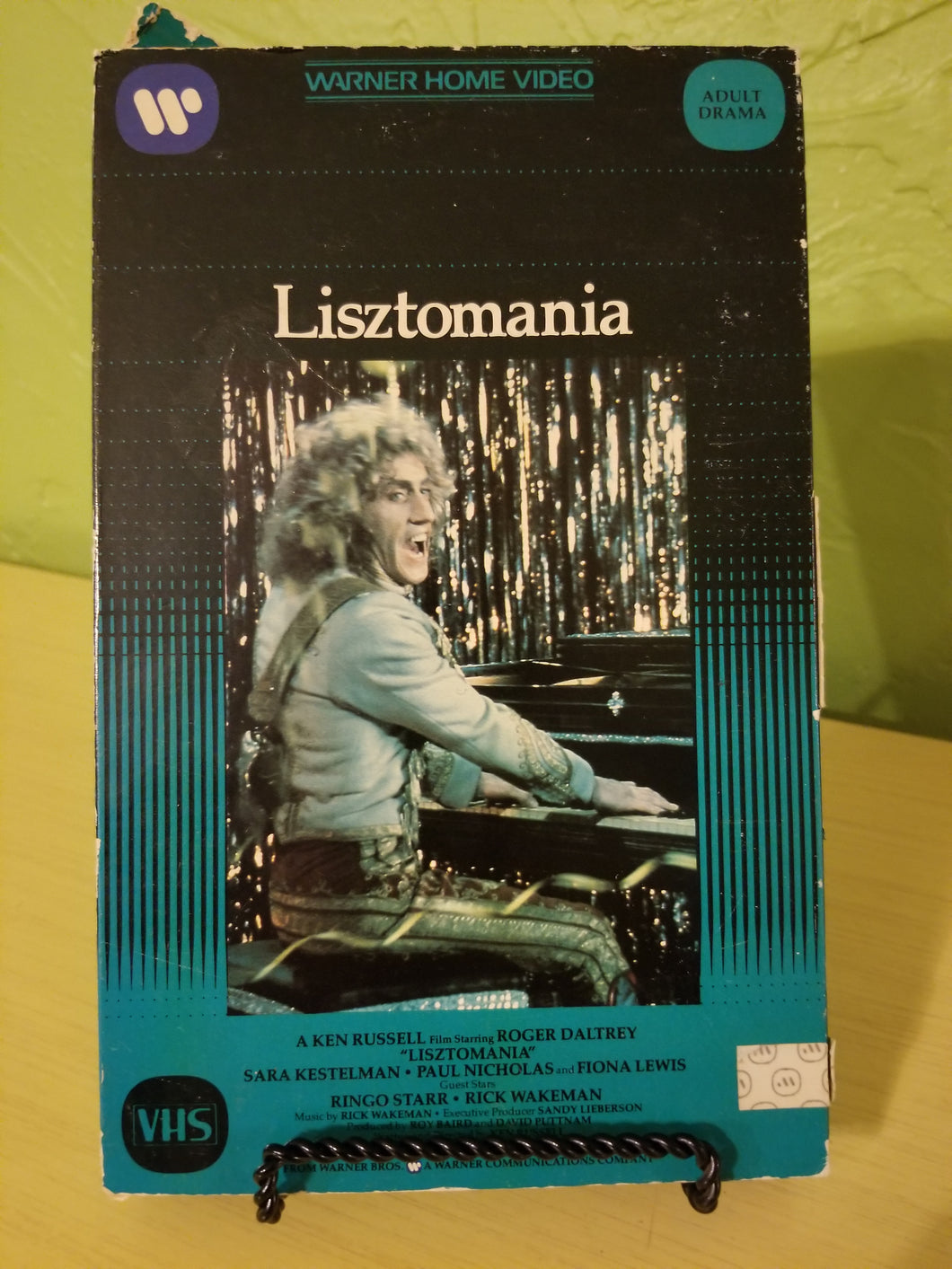 Liztomania Big Box VHS