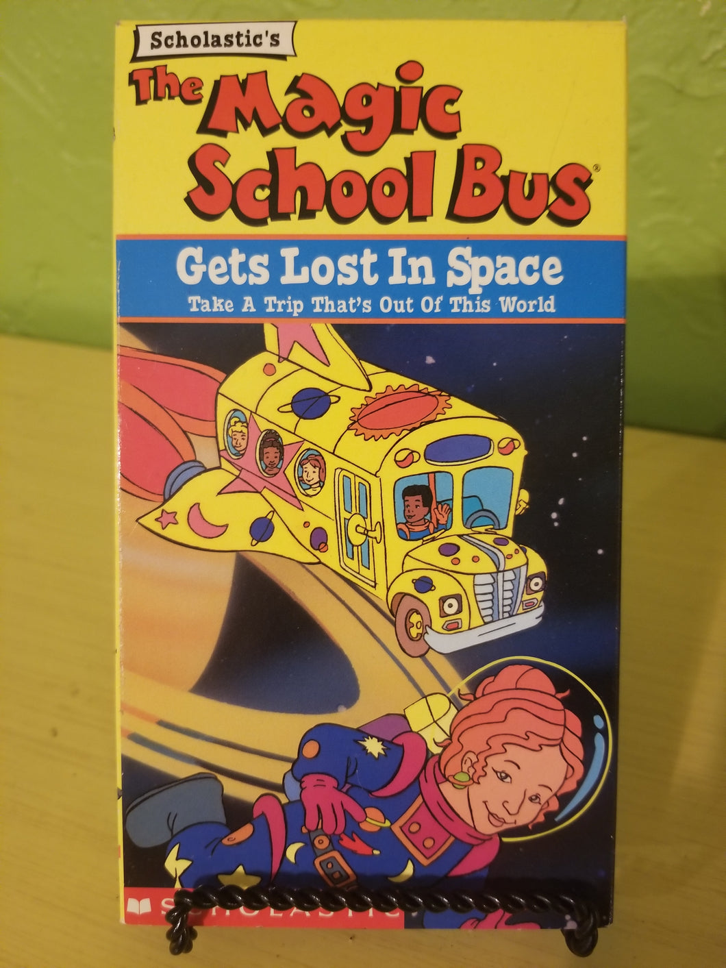 Magic School Bus - Gets Lost in Space VHS