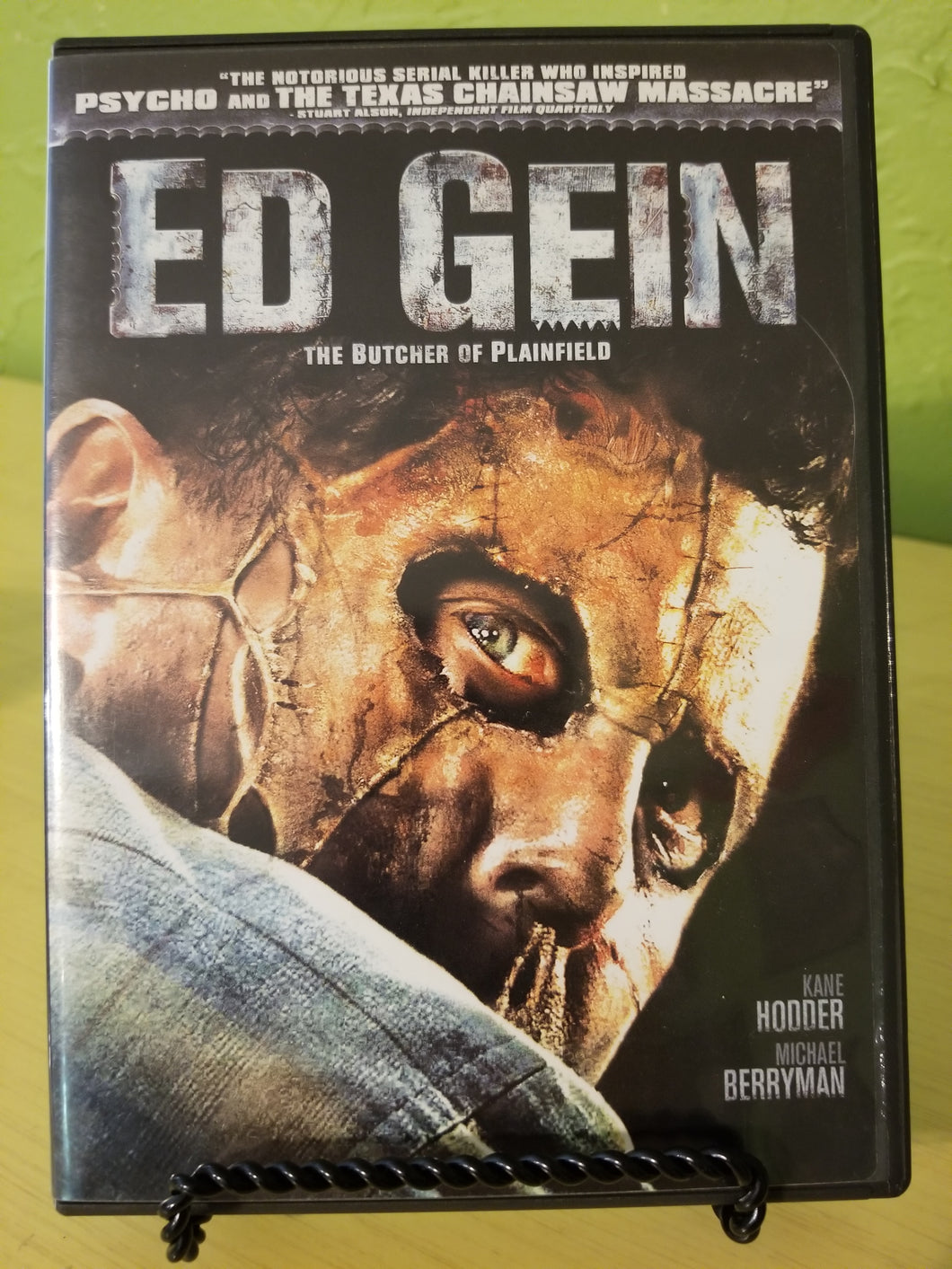 Ed Gein: The Butcher of Plainfield DVD
