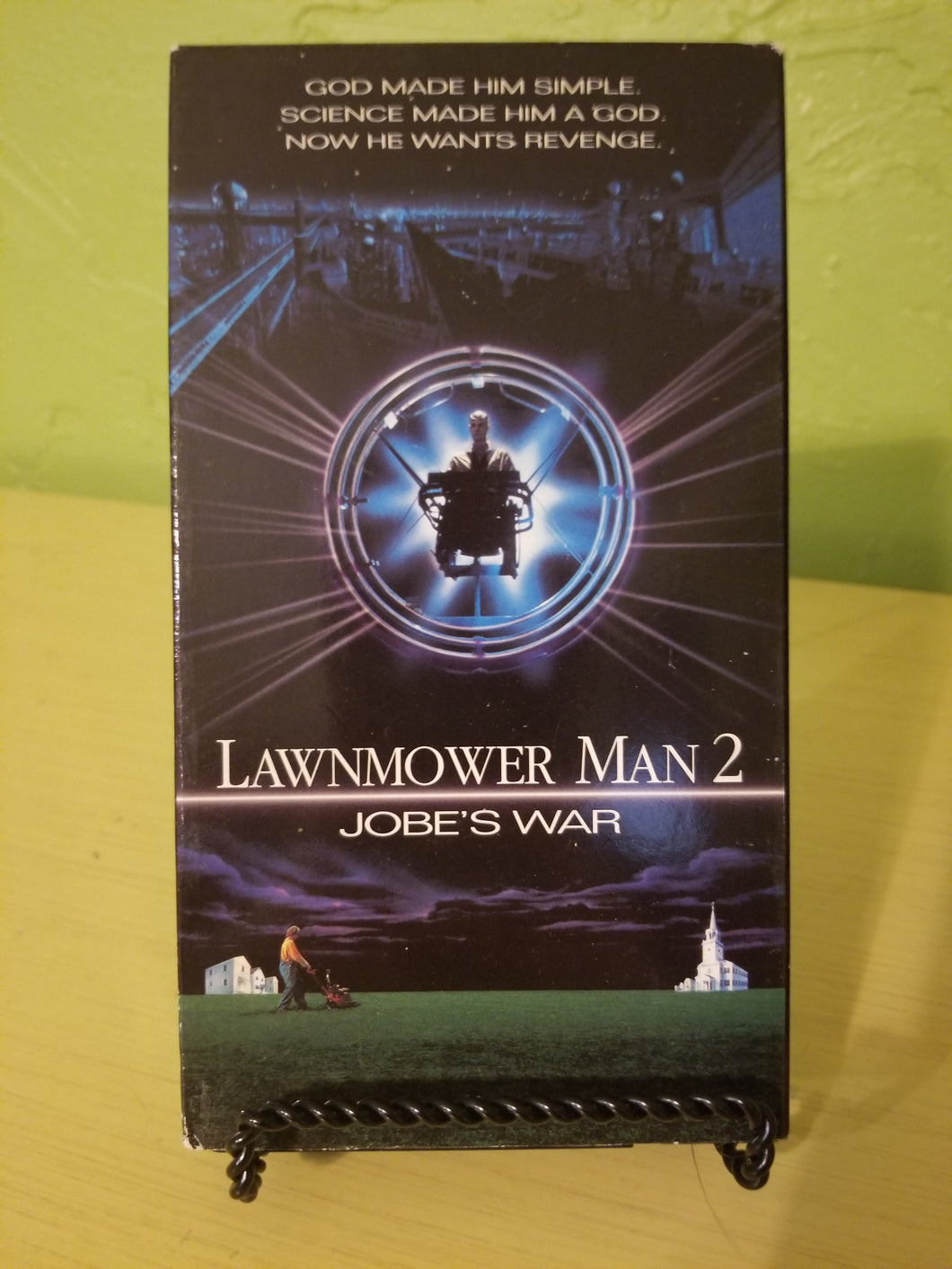 Lawnmower Man 2 VHS