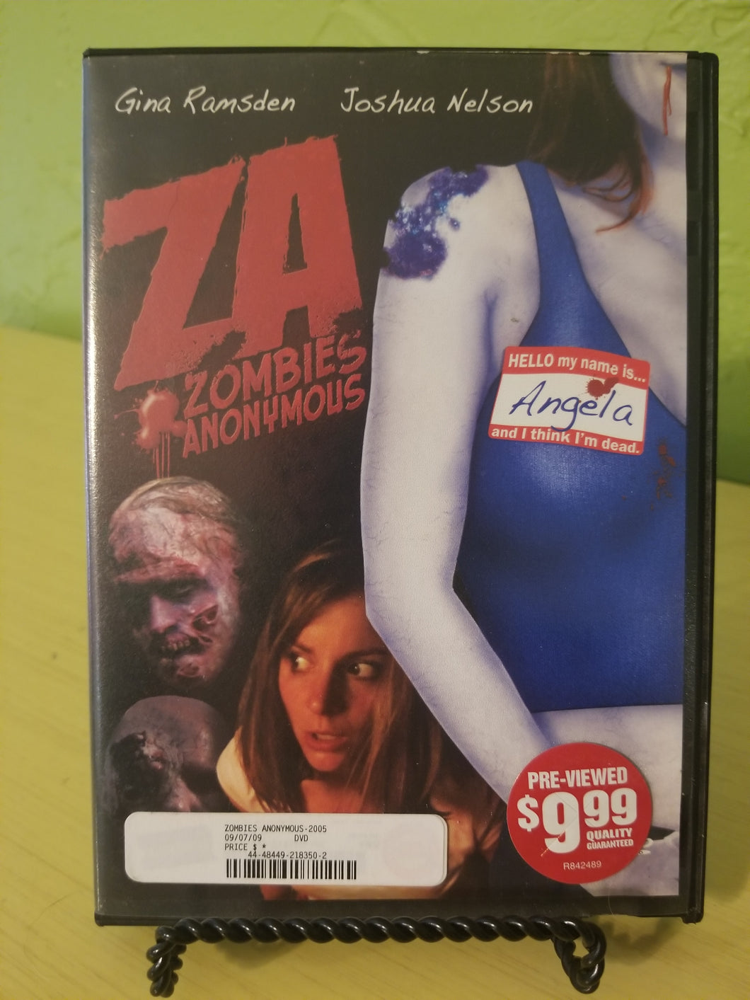 Zombies Anonymous DVD
