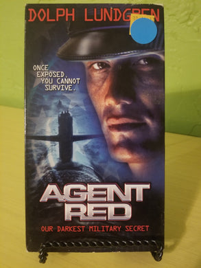 Agent Red VHS