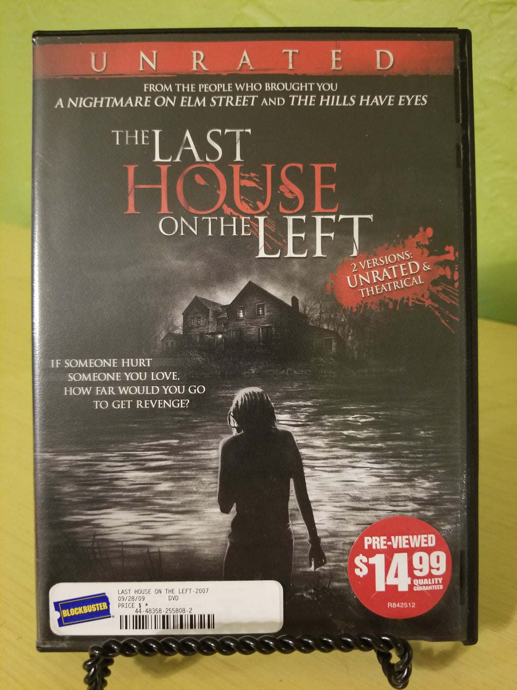 Last House on the Left DVD