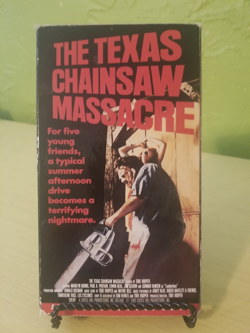 Texas Chainsaw Massacre MPI VHS