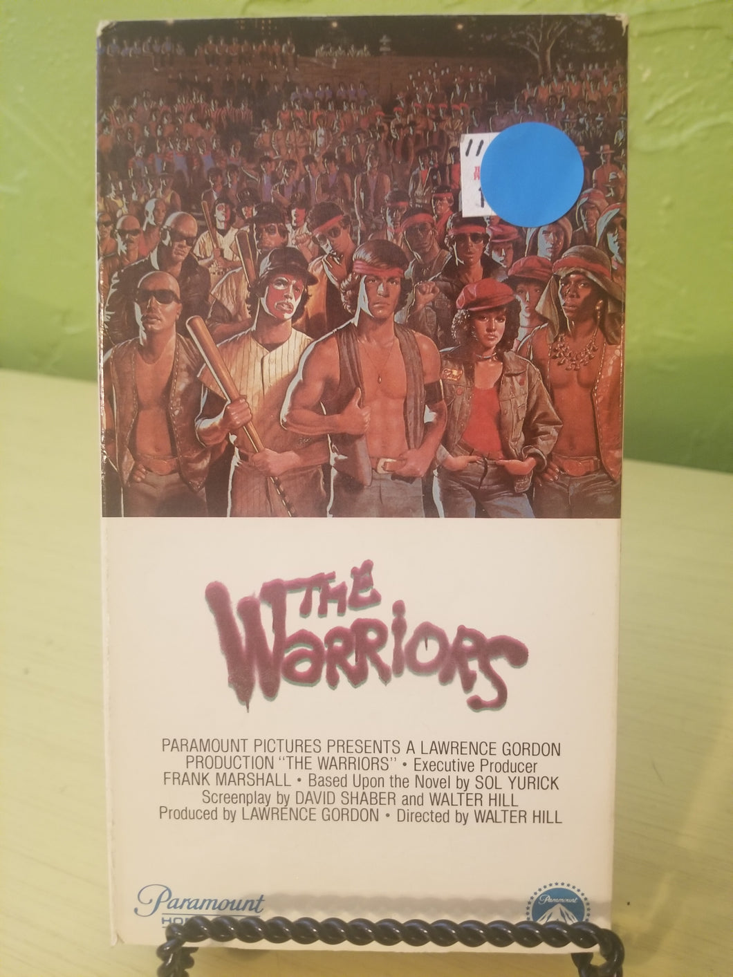 The Warriors VHS