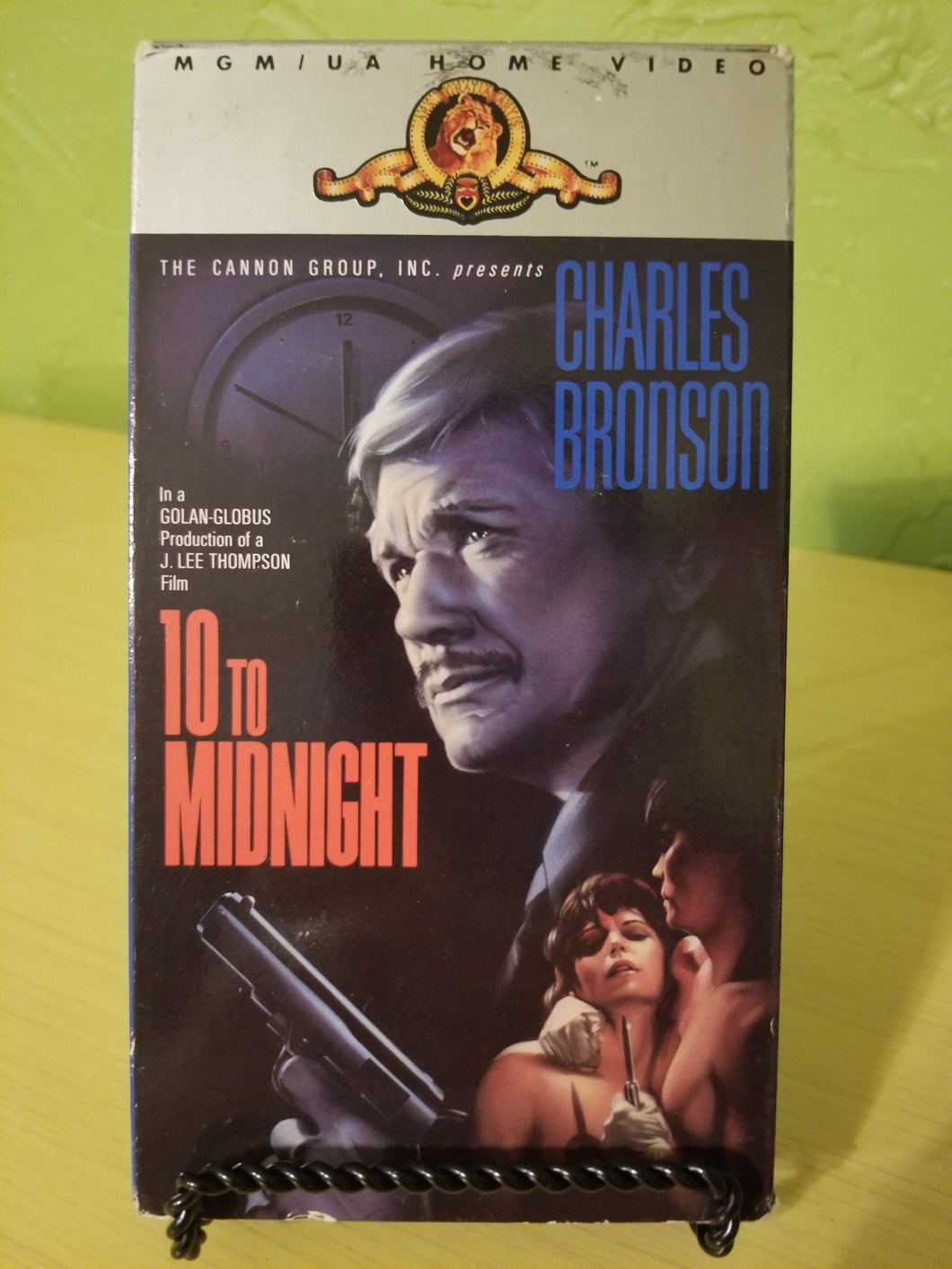 10 to Midnight VHS