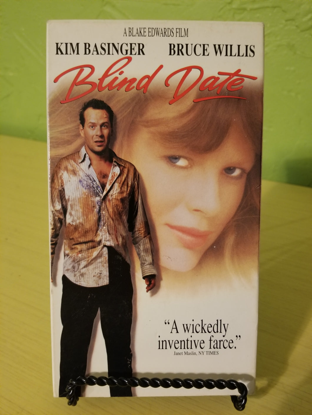 Blind Date VHS