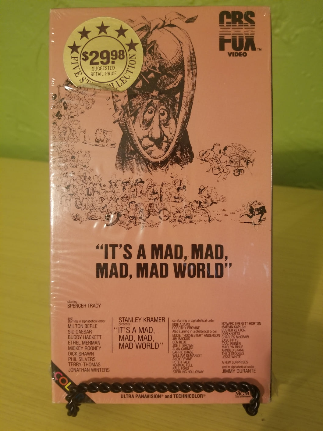 It's a Mad, Mad, Mad, Mad World VHS