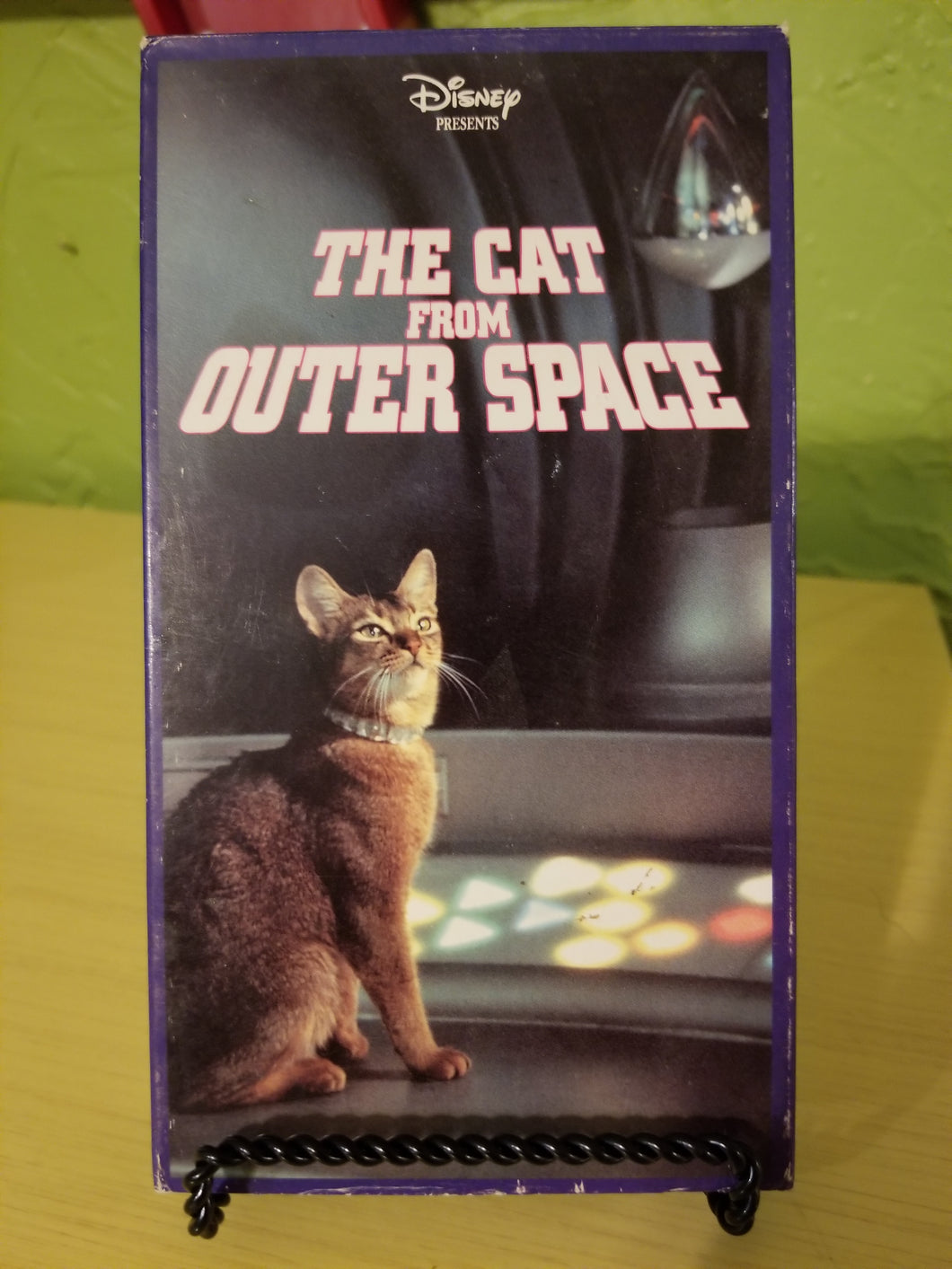 The Cat from Outer Space VHS