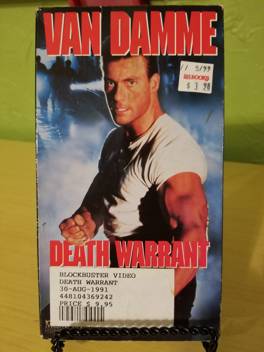Death Warrant VHS