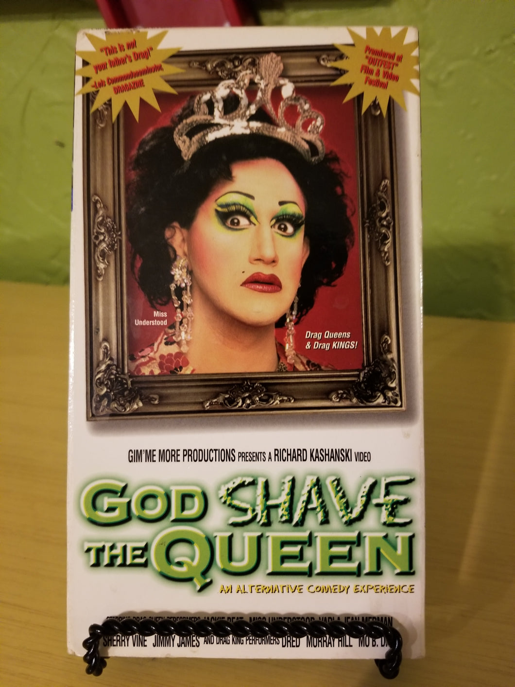 God Shave the Queen (90s NYC Drag Queens) VHS