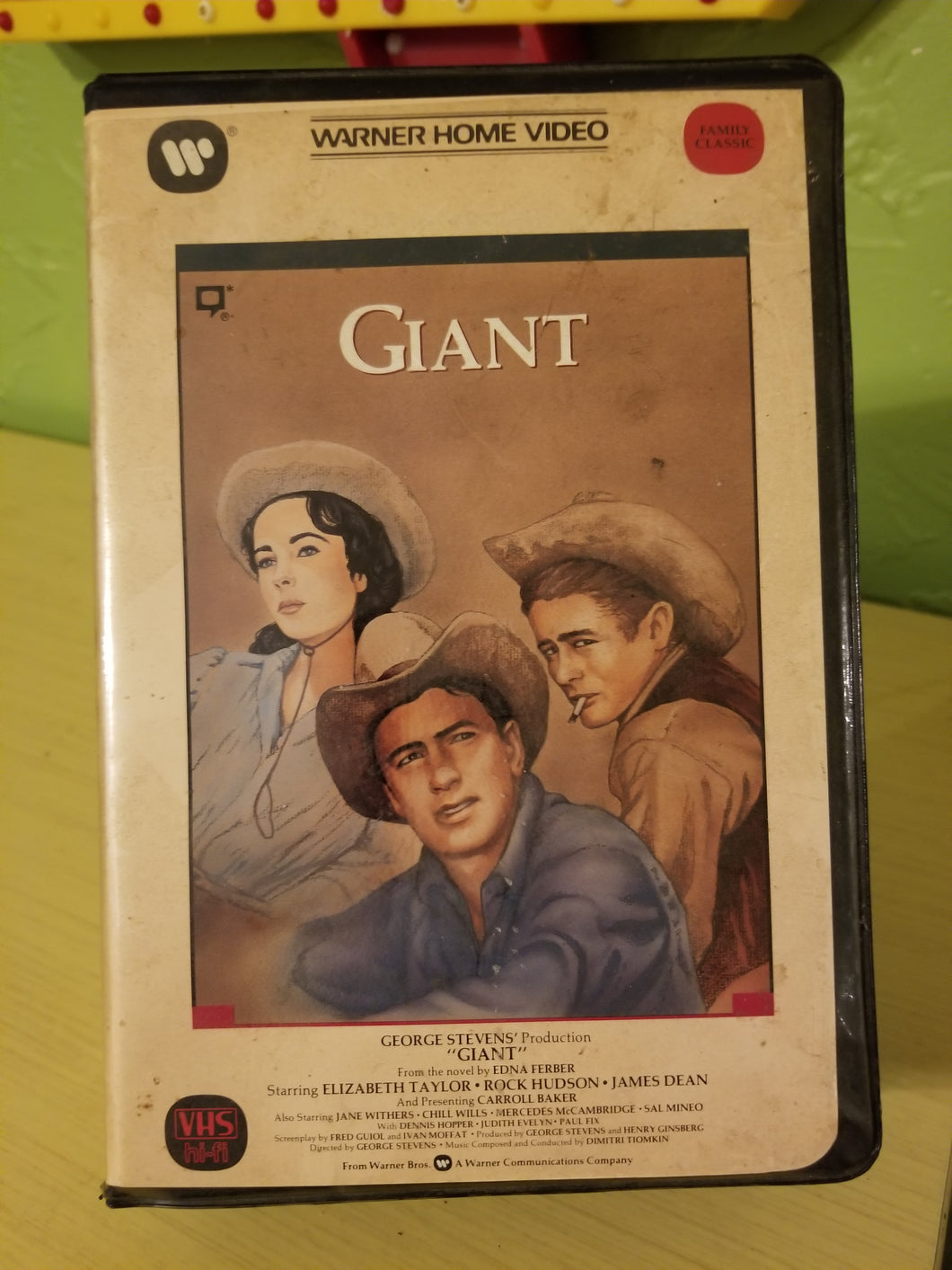 Giant Clamshell VHS