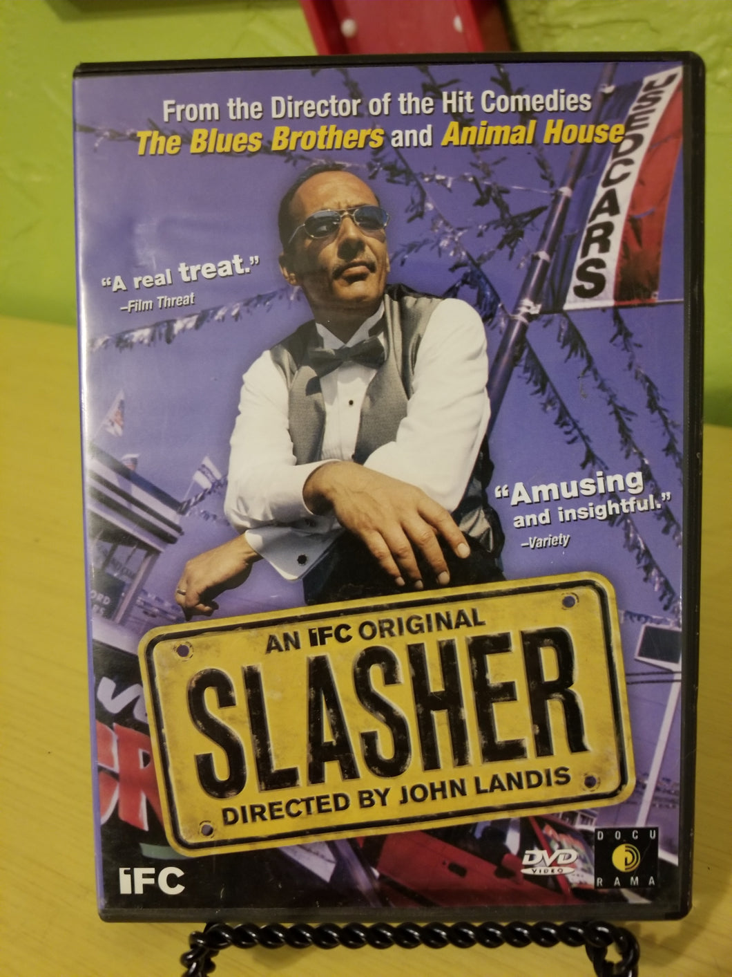 Slasher DVD