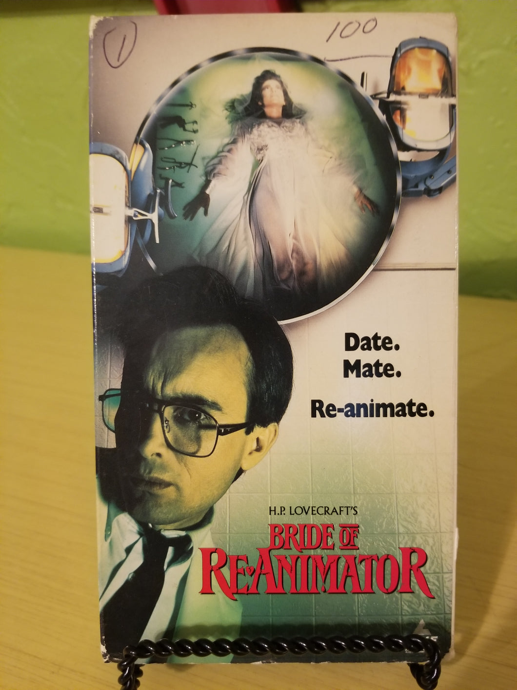Bride of Re-Animator VHS