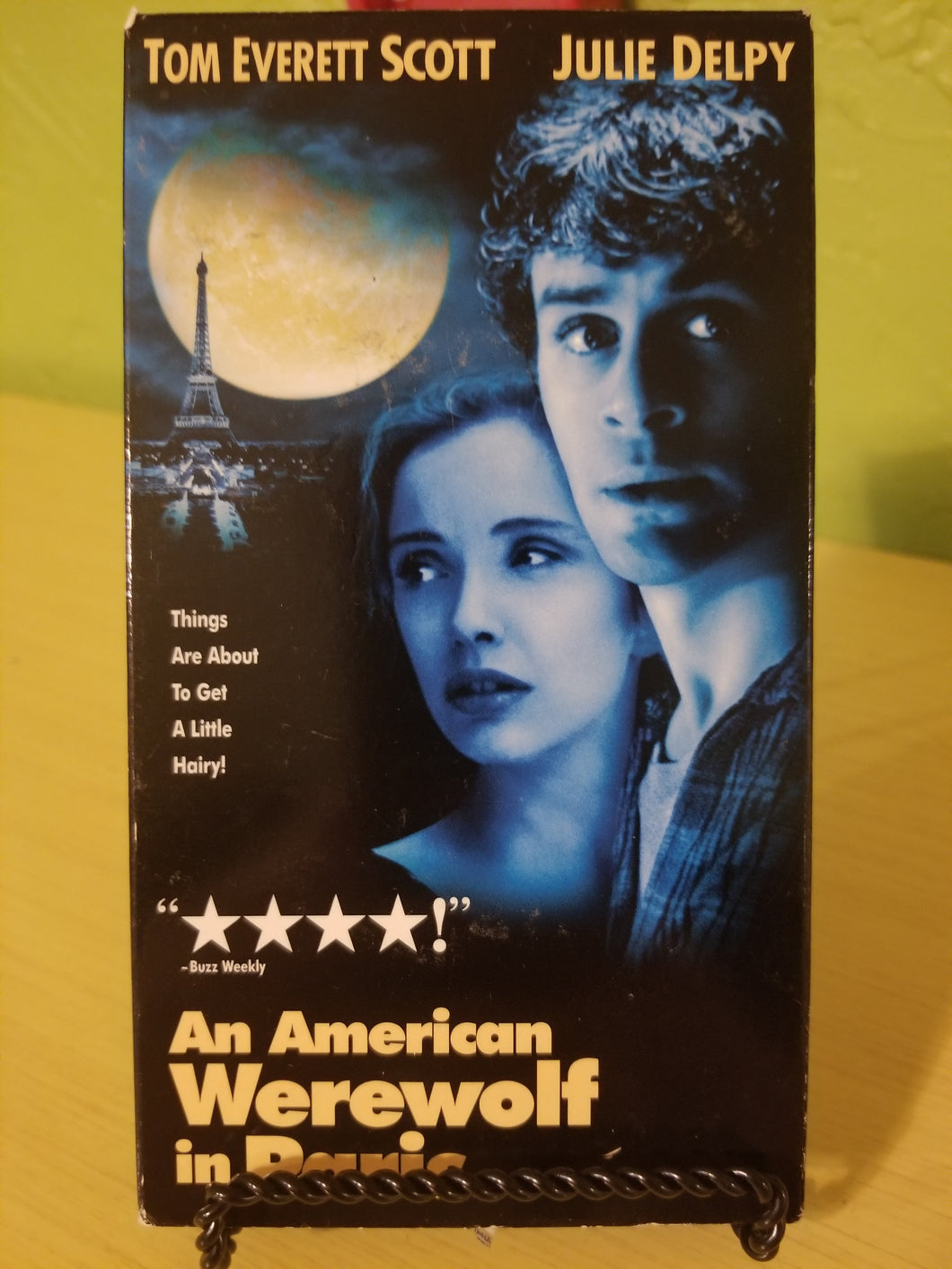 An American Werewolf in Paris VHS