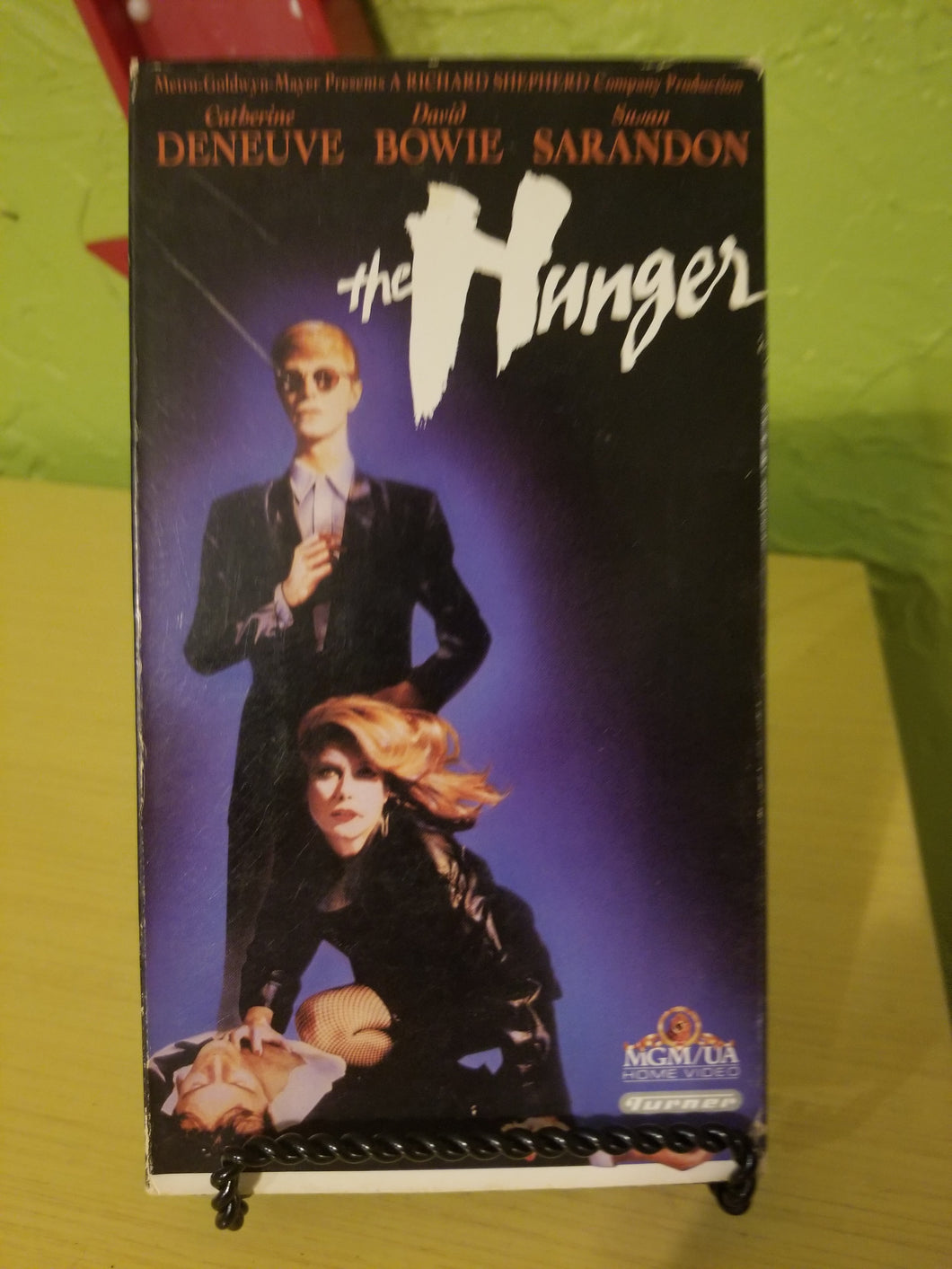 The Hunger VHS