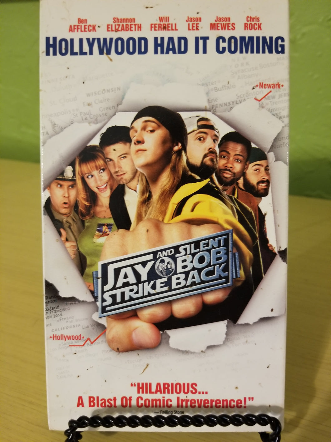 Jay and Silent Bob Strike Back VHS
