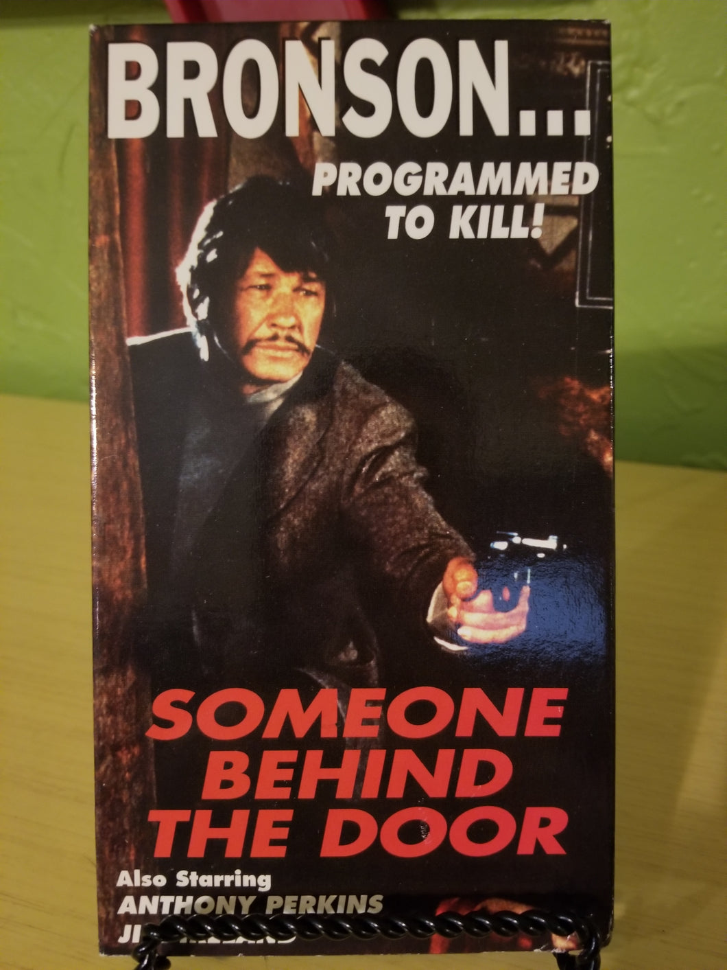 Someone Behind the Door VHS
