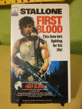 Rambo: First Blood VHS