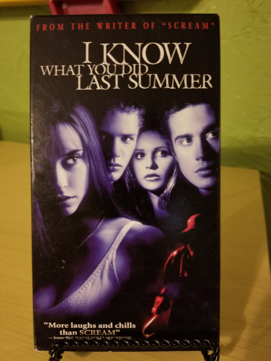 I Know What You Did Last Summer VHS